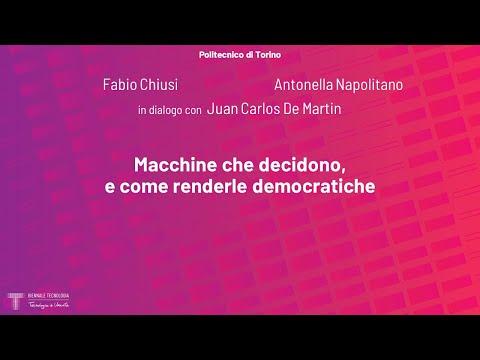 Macchine che decidono, e come renderle democratiche | Fabio Chiusi, Antonella Napolitano