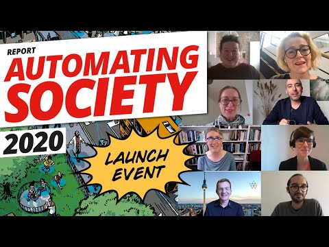 Automating Society Report 2020 - Launch event