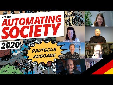 Automating Society Report 2020 - Veröffentlichung der deutschen Länderausgabe