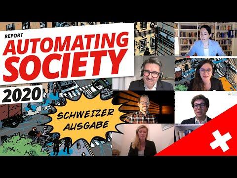 Automating Society Report 2020 - Veröffentlichung der Schweizer Länderausgabe